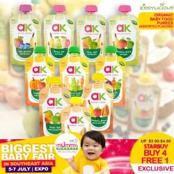 Annabel Karmel Organic Baby Purees Food