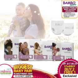 Bambo Nature Premium Baby Diapers (MADE IN DENMARK) BUY 2 FREE 1