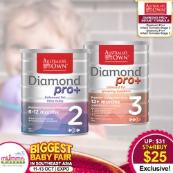 Australia's Own Diamond Pro+ Infant Milk Formula Stage 2/3