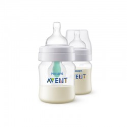Philips Avent 125ml Anti Colic PP Bottles with Airfree Vent (twin pack)
