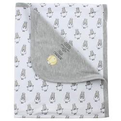 Baa Baa Sheepz Bamboo Baby Blanket / Wrap (Double Layer) - BUY 1 FREE 1!