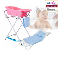 Babylove 3 in 1 Bath Set (Bath Stand + Bath Tub + Bath Support) *GET $6.00 OFF FOR EARLY BIRD SPECIAL!!!