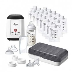Tommee Tippee Express & Go Complete Breastmilk Starter Set FREE Breastmilk Pouches + Disposable Breast Pads + PP Bottle!!
