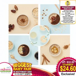 ANYA MEALS Addictives-FREE Baby Foods All Range