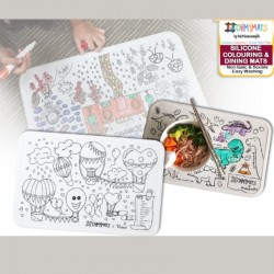 OhMyMats Silicone Colouring & Dining Mats Range