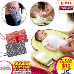 JJovce Portable Diaper Changing Mat *EARLY BIRD SPECIAL!!!