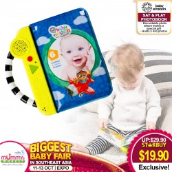 Baby Einstein Say & Play PhotoBook Toy