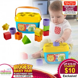 Fisher Price Baby 1st Blocks Refresh Toy