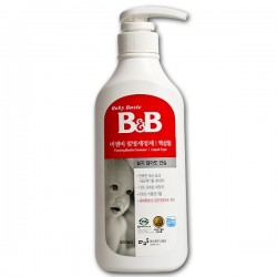 B&B Feeding Bottle Cleanser Liquid Bundle (600ml + 500ml) At $12.90 ONLY!!
