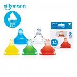 Sillymann Silicone Nipple Step 1~4