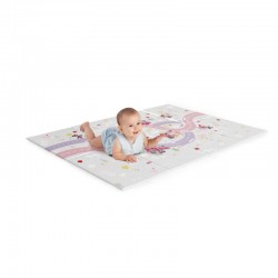 Disney Baby MICKEY MOUSE / MINNIE MOUSE On the Road Large Foam Playmat 47x35 Inch