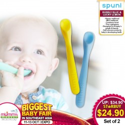 SPUNI Baby Spoons (Bundle of 2)