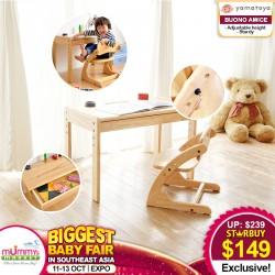 Yamatoya Buono Amice Desk and Chair Set