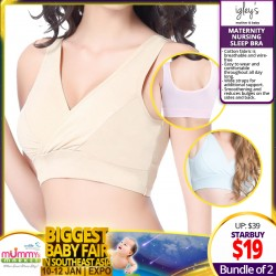 IGLEY'S Maternity Nursing Sleep Bra (Bundle of 2)