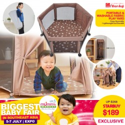 nihon ikuji Washable & Portable Fabric Playard