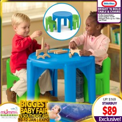 Little Tikes BRIGHT 'n BOLD™ Table & Chairs Set