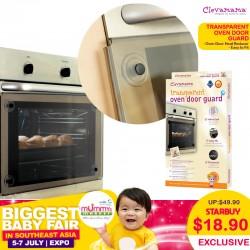 Clevamama Transparent Oven Door Guard (OVER 60 Percent OFF!!)