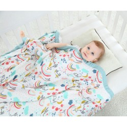 Bamboo Baby Blanket 4 Layers
