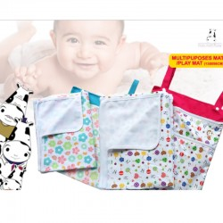 Moo Moo Kow Portable Multipurpose/ Playmat + FREE XL Reusable Bag worth $23