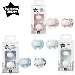 Tommee Tippee Closer to nature MEME / Little London Soother 2PK (0-6 or 6-18 months)