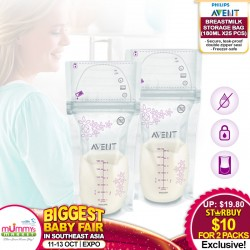 Philips Avent Breastmilk Storage Bag (25x180ml) 2 for $10