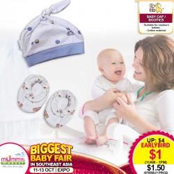 Newborn Booties / Baby Cap