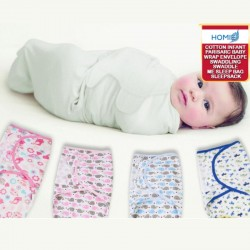 Parisarc Infant Cotton Envelope Swaddle Baby Wrap/Sleepbag