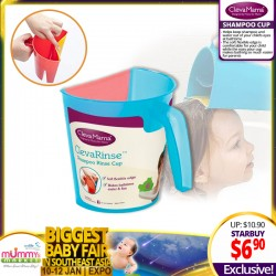 Clevamama ClevaRinse Shampoo Rinse Cup (Asst Colors!!)