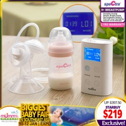 Spectra 9+ Breastpump + Free 2 Years Warranty