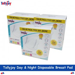 Tollyjoy Day & Night Disposable Breast Pad 60s/Box (3 Box)