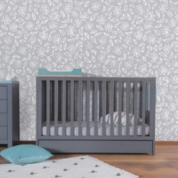 THEO Lili / Lou Baby Cot 120 x 60cm with Drawer + Free 4