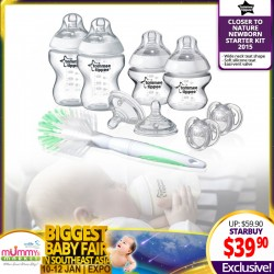 Tommee Tippee Closer to Nature Newborn Starter Kit 2015 (BOTTLES SET)