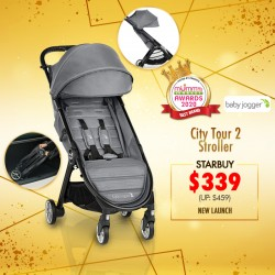 (2020 AWARD WINNER)Baby Jogger City Tour 2 Stroller