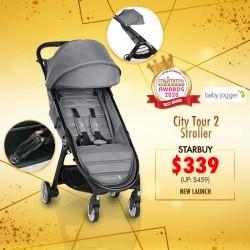 (2020 AWARD WINNER)Baby Jogger City Tour 2 Stroller