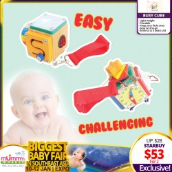 BFF Burger Cube Toy (Easy/Challenging) Bundle of 2