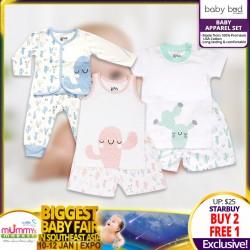 Baby Bud Short Sleeve Top + Short (Set) BUY 2 FREE 1
