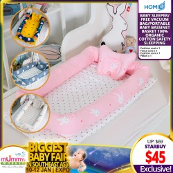 Homie Portable Baby Bassinet Basket Sleeper *EARLY BIRD SPECIAL!!!