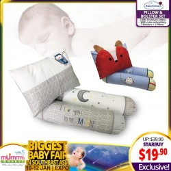 Babydream 3-In-1 Pillow and Bolster Set