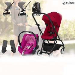 Cybex Eezy S Twist Stroller + Aton 5 Infant Carseat Bundle FREE Eezy S Carseat Adapter + Bumper Bar + Rain Cover + Delivery!!