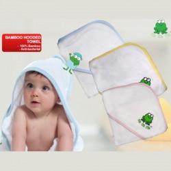 Crok Crok Frok Hooded Bamboo Towel (BUY 1 FREE 1!)