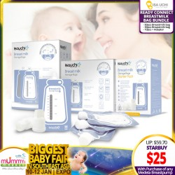 Isa Uchi Ready Connect Breastmilk Bag Bundle (With Purchase of any Medela Electric Breastpump)