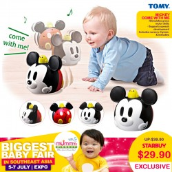 Tomy Disney Mickey Come With Me Toy