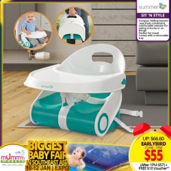 Summer Infant Sit 'n Style Compact Booster Seat