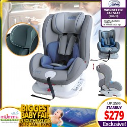 Asalvo WONDER FIX CARSEAT (BLUE) - (Only $259 with