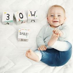 Milestone Baby Age & Moments Blocks Toy
