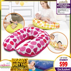 Unilove Hopo 3-in-1 Maternity Multi Support Pillow (Additional $10 OFF for SAVE MORE Coupons)
