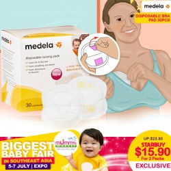 Medela Disposable Nursing Bra / Breast Pad - Bundle of 2!