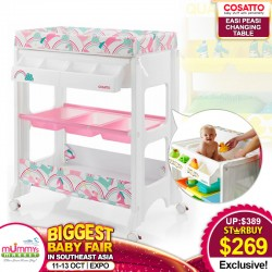 Cosatto Easi Peasi 3in1 Bath Changing Table Station