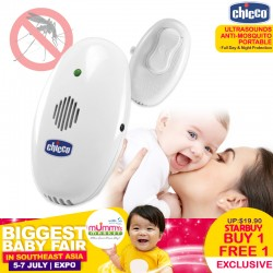 Chicco Ultrasounds Anti-Mosquito Portable/Plug in Device (BUY 1 Get 1 FREE)