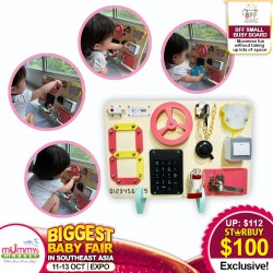 BFF Busy Board Small Learning Toy